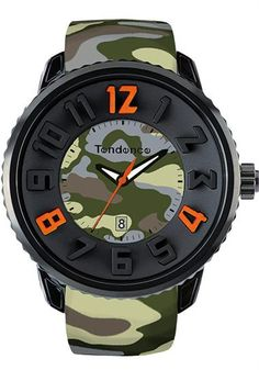 Tendence Camoflage Dark Green - Cool Watches from Watchismo.com