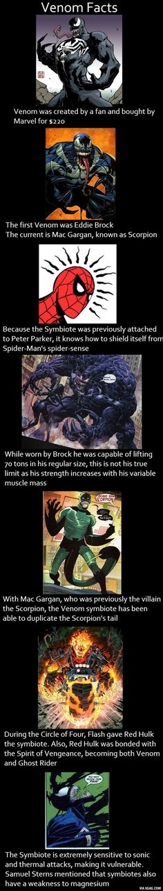 Venom Facts.