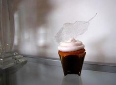 white cakery cupcakes | Glass Feather cupcake By White Cakery Co., whitecakery.ca