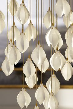 Bloom by Haberdashery is a lighting range inspired by the first blooms of spring London Design Week, Luxury Lighting, Light Installation, Haberdashery, Luxury Interior, Plating, Product Launch, Bloom, Range