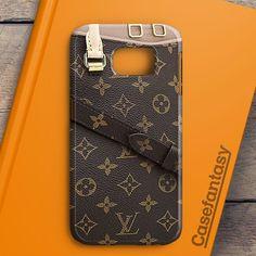 Louis Vuitton Pallas Monogram Canvas Handbags Samsung Galaxy S7 Edge Case | casefantasy