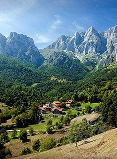 Picos de Europa Cantabria Spain, My Mother still talks about how beautiful Spain was when she lived there.
