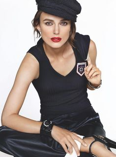 Kiera Knightly - Chanel CHARLOTTE & I CANT WAIT TO SEE ALOT OF MOVIES WITH YOU. DO An Electric movie and magazine movie.