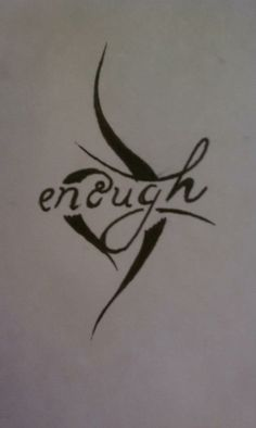 eating disorder recovery symbol tattoo
