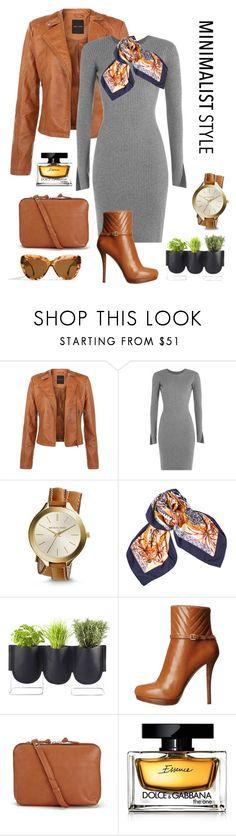 """Minimal!"" by chalsouv ❤ liked on Polyvore featuring Alexander Wang, Michael Kors, Hermès, Authentics, MICHAEL Michael Kors, Sandqvist, Dolce&Gabbana, Mykita, women's clothing and women"