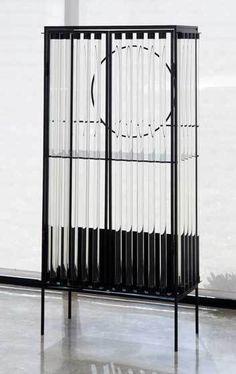 Christophe Côme . tube cabinet, 2001