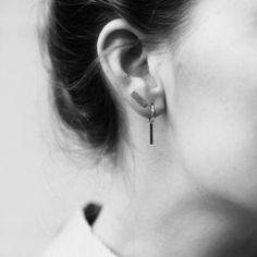 ANNA-NINA - ingot ring earring silver