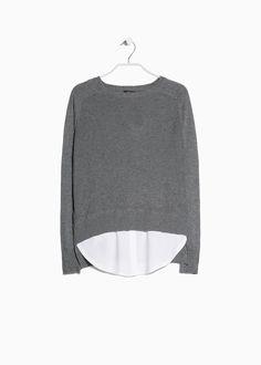 Silk cashmere-blend sweater