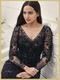 Sonakshi Sinha in Zara Umrigar at the photoshoot of collection Anastasia, MyFashgram