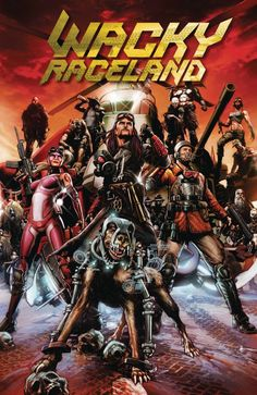Exclusive Cover Reveal: WACKY RACELAND #1 Peter Perfect Variant - Comic Vine