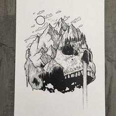 Amazing Pen and Ink Cross Hatching Masters Edition Ideas. Incredible Pen and Ink Cross Hatching Masters Edition Ideas. Dark Art Drawings, Art Drawings Sketches, Drawings Of Skulls, Crazy Drawings, Sketch Drawing, Skeleton Art, Arte Sketchbook, Ink Illustrations, Pen Illustration