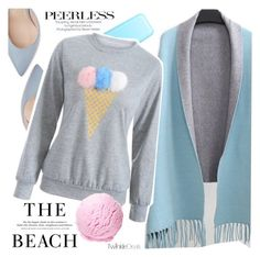 """""""Pastels"""" by vanjazivadinovic ❤ liked on Polyvore featuring H&M, polyvoreeditorial and twikledeals"""