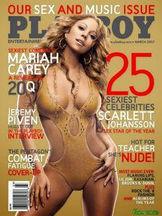 Mariah Carey Playboy USA March 2007 [PDF Digital] | FamosasMex