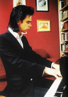 Nick Cave has the greatest profile ever to be photographed