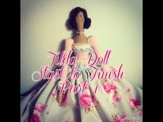 Tilda Doll Start to Finish Series: Part 1 - Supplies - YouTube