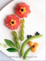 Learning about nature? Vegetation? Spring? Here's a healthful snack that will compliment the discussion.