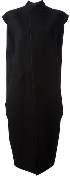 Rick Owens Sleeveless Coat - Lyst