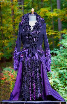 Gothic corset style sweater coat. Size M/L. Ready by amberstudios