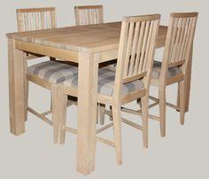 Koivuinen ruokapöytä esim. 120x80