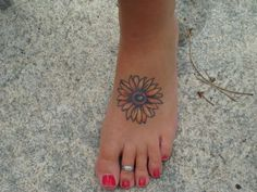 Sunflower tattoo- as the Sunflower follows the sun throughout the days, I too will follow the SON throughout my days.