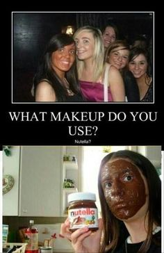 You must not have excessive makeup on.  Natural, light makeup is best. Natural foundation, Not too much eye makeup. Clear skin.