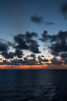 "lsleofskye: ""Sunset at Sea """