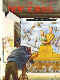 New Yorker cover, 1944, by Constantin Alajalov