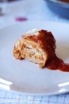 Peitos de Frango Recheados com Mozzarella