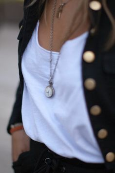 Good to see long necklaces are back-- so mine aren't so ridiculous :)