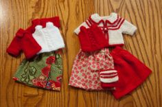 Mix and match outfits in holiday colors. (2011)