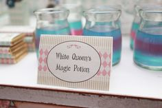 Alice In Wonderland Guest Dessert Feature | Amy Atlas Events