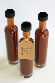 Homemade pumpkin spice latte syrup...I made this & it's really good! Plus, your house smells amazing when cooking it!  No petroleum, carcinogens, artificial flavors or colors in this PSL!!!
