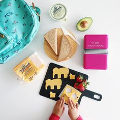 Involve your kids to making healthy school lunches with @tillamook. #dejunkthelunchbox #dairydoneright #backtoschool
