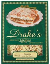 Drake's Pasta - Lasagna with Meat Sauce    Delicious!!