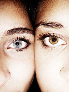 hey girl your eye and mine! :p