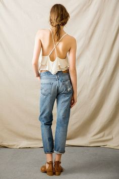 Vintage Levi's Patched  Jean #urbanoutfitters
