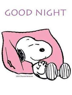 Snoopy good night