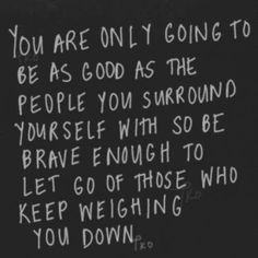 Surround yourself with those of character. Association with ungodly people will bring you down too.