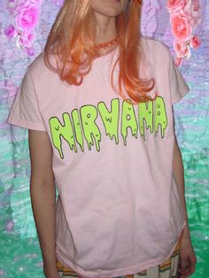 Nirvana T-shirts are the best kind of T-shirts