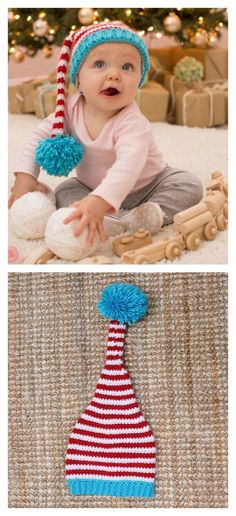 Baby Elf Hat Free Crochet Pattern