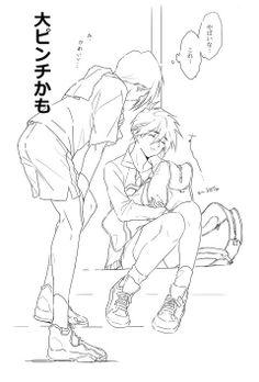 Gundam Wing: Trowa and Heero