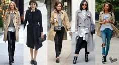 Stylish and classic, never goes out of fashion, the trench always comes back…