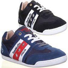 Pantofola D ORO Ascoli Leaga Mens Trainers Size Black EU 40 46 | eBay