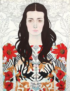 """Angelene"" Oil on canvas 18 x 24""  Sold | Original art by Ryan Pickart"