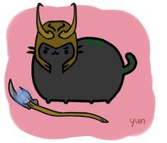 Pusheen = Feline Loki