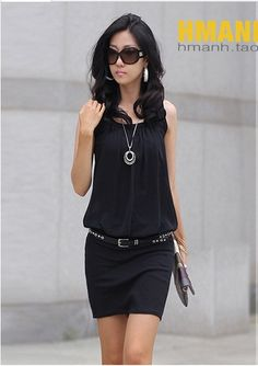 New !! 2013 New Fashion Summer Womens Mini. Did you know that dressing in monochrome (all one color) is slenderizing?