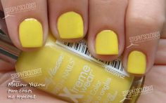 Sally Hansen - Hard as Nails Xtreme Wear - Mellow Yellow    #sallyhansen #yellow