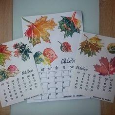 Autumn. Leaves. Frottage. Preschool art project.   Náš kalendár. OKTÓBER  Na frotáž sme použili nazbierané listy, sviečku, anelinové vodové farby. Jakubko maľoval ostošesť. Po vyschnutí som… Art Projects, Bullet Journal, Instagram