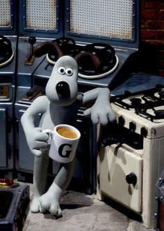 Gromit in the Studio, 'Wallace & Gromit's World of Invention' 2010