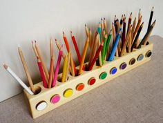 Montessori pencil holder